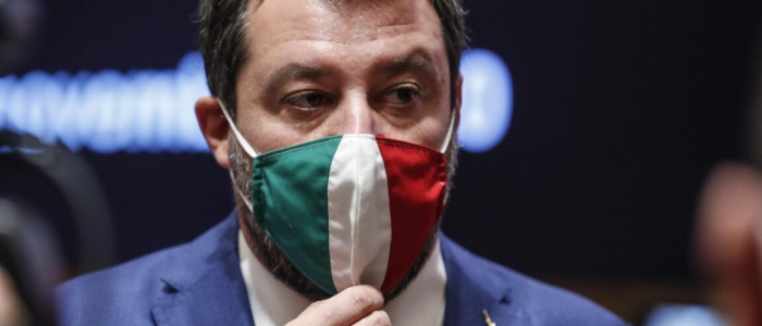 """Salvini: """"La Lega non lascia il governo ma non votiamo a scatola chiusa"""""""