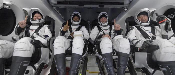 Ammaraggio riuscito per la Crew Dragon Resilience