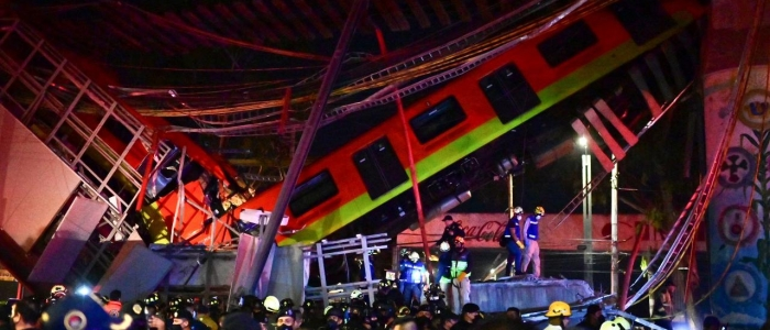 Città del Messico: cede un ponte della metropolitana, tanti i morti e i feriti