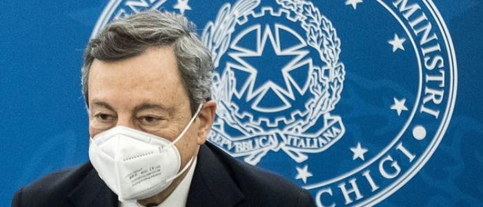 """Covid, Draghi: """"Sui vaccini Italia pronta a fare da sola se la Ue non dà segnali di svolta"""""""