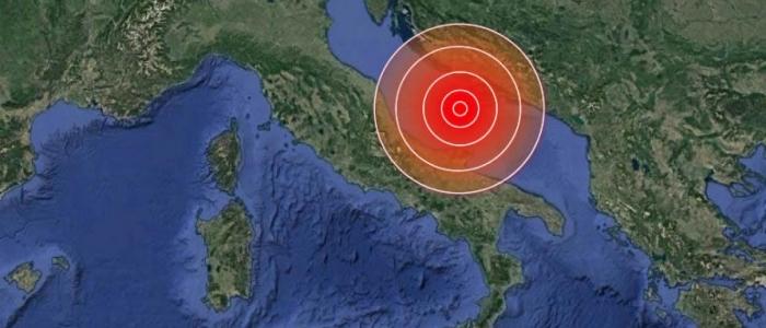 Forte scossa di terremoto nell'Adriatico: avvertita in Abruzzo, Campania e Puglia