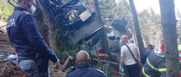Tragedia funivia Stresa-Mottarone: tre persone indagate