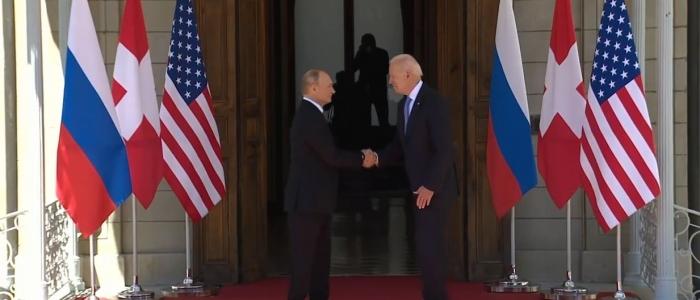 """Ginevra, incontro tra Biden e Putin """"senza ostilità"""""""