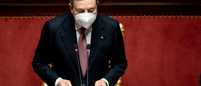 """Draghi: """"La situazione economica in Italia è in forte miglioramento"""""""