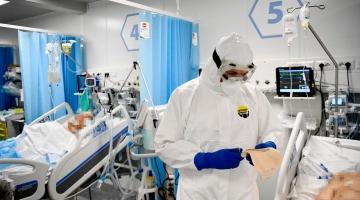 Covid, occupazione terapie intensive al 3%
