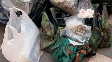 Catania, oltre 70 chili di droga nascosti in un cimitero