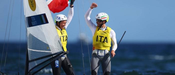 Tokyo 2020, oro nella vela per la coppia Tita-Banti