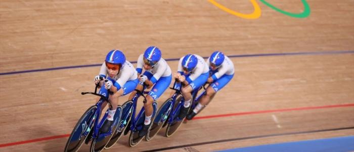 Tokyo 2020, ciclismo su pista: oro e record mondiale per l'Italia