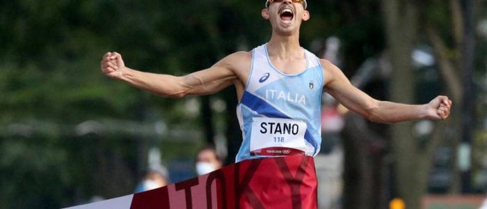 Tokyo 2020, Massimo Stano conquista l'oro nella 20 km di marcia