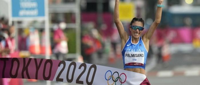 Tokyo 2020, altra vittoria nella 20 km di marcia: oro per Antonella Palmisano
