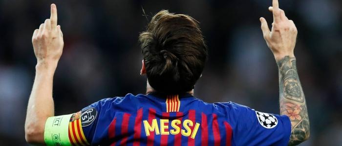 Calcio, Messi lascia il Barcellona