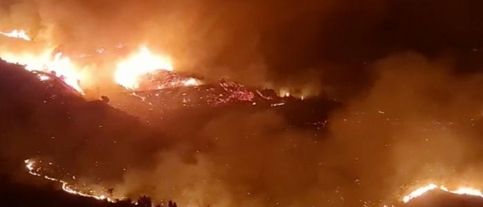 Sicilia, continuano gli incendi e arrivano alle Madonie