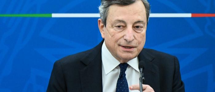 """Draghi: """"L'Europa sarà in grado di accogliere i rifugiati afghani"""""""