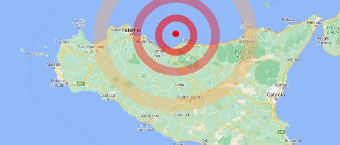 Palermo, terremoto di magnitudo 4.3