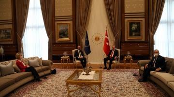 """Draghi: """"Erdogan è un dittatore"""""""