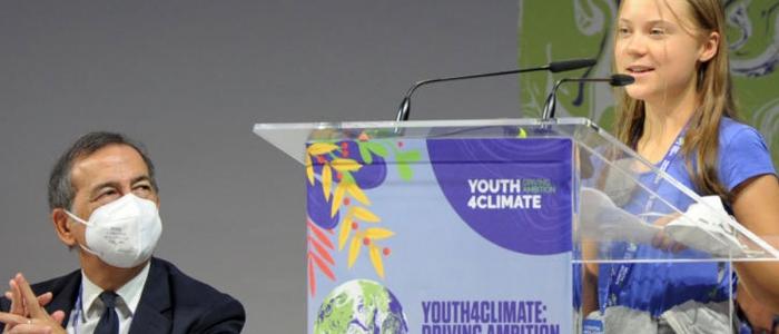 """Milano, Greta Thunberg apre la Youth4Climate: """"I leader non ci ascoltano"""""""