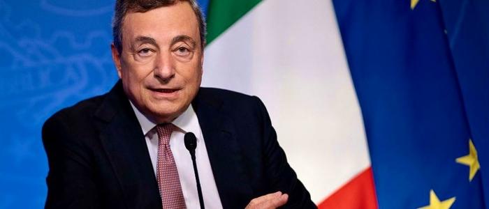 "Clima, Draghi: ""La transazione ecologica è una necessità"""