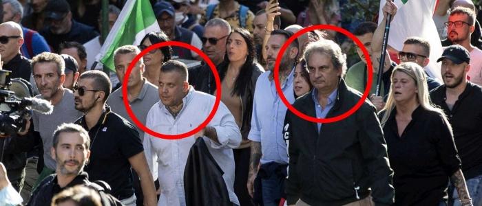 Scontri a Roma, arrestati i leader di Forza Nuova
