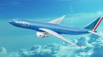 Ita Airways, presentata oggi la nuova livrea